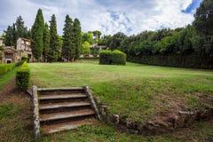 Binnen de tuin van Boboli stock afbeeldingen