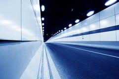 Binnen de tunnel stock afbeeldingen