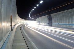 Binnen de Tunnel Stock Fotografie