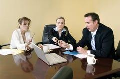 Binnen de vergadering Stock Fotografie