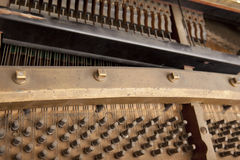 Binnen piano Stock Foto