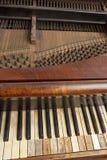 Binnen piano royalty-vrije stock afbeeldingen