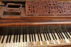 Binnen piano Royalty-vrije Stock Foto