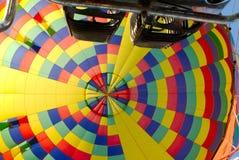 Binnen een Ballon Royalty-vrije Stock Foto's