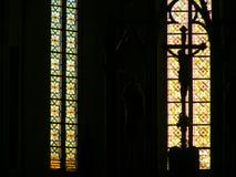 Binnen een katholieke kerk sibiu Royalty-vrije Stock Afbeeldingen