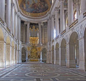 Binnen een museum in Europa Royalty-vrije Stock Afbeeldingen