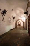Binnen een museum het vieren stieregevecht Royalty-vrije Stock Foto's