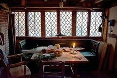 Het oude tudor huis voorraadbeelden download royalty vrije