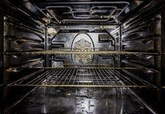 Binnen een oven stock foto's