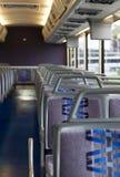 Binnen een reisbus Royalty-vrije Stock Foto's