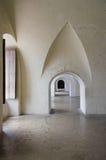 Binnen een Spaans kasteel, PR Stock Afbeelding