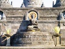 Tempel van Bali Borobudur Royalty-vrije Stock Foto's