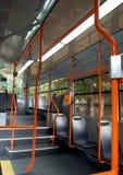 Binnen een tram royalty-vrije stock foto's
