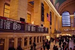Binnen Grote Centrale Post Royalty-vrije Stock Afbeelding