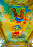 Binnen het Dali-museum Stock Afbeeldingen
