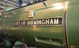 Binnen het Denkgroepmuseum in Birmingham, Engeland Stock Foto