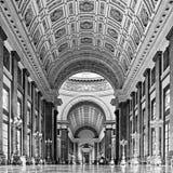 Binnen het gebouw van het Capitool in Havana royalty-vrije stock afbeeldingen
