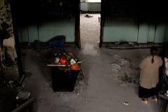 Binnen het Huis van Vakbonden, Odesa, de Oekraïne royalty-vrije stock afbeeldingen