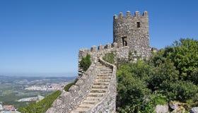 Binnen het kasteel van legt vast Stock Foto