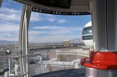 Binnen het Observatiewiel in Las Vegas Royalty-vrije Stock Foto