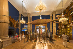 Binnen het Oceanografische Museum van Monaco Royalty-vrije Stock Fotografie