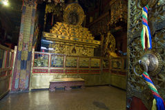 Binnen het Paleis Potala Royalty-vrije Stock Foto's