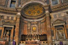 Binnen het Pantheon Royalty-vrije Stock Fotografie