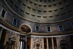 Binnen het Pantheon Royalty-vrije Stock Foto's