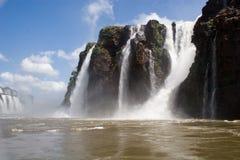 Binnen Iguassu valt 2 Royalty-vrije Stock Fotografie