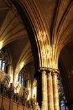 Binnen Kathedraal Licoln Royalty-vrije Stock Foto