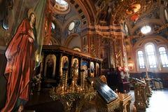 Binnen Kazan tempel Stock Afbeeldingen