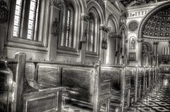 Binnen kerk Royalty-vrije Stock Afbeelding
