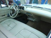 Binnen kijk van Lincoln Continental Mark II, Lima Royalty-vrije Stock Fotografie