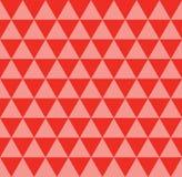 Binnen kleurrijke de achtergrond van het driehoekspatroon, naadloos Royalty-vrije Stock Afbeeldingen