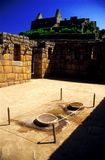 Binnen Machu Pichu - Peru Royalty-vrije Stock Afbeeldingen