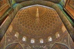 Binnen moskee Royalty-vrije Stock Fotografie