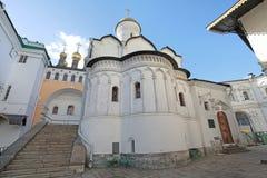 Binnen Moskou het Kremlin, Rusland stock afbeelding