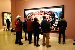 Binnen nationaal kunstmuseum Royalty-vrije Stock Afbeelding
