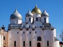 Binnen Novgorod het Kremlin royalty-vrije stock foto's