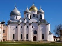 Binnen Novgorod het Kremlin royalty-vrije stock afbeeldingen