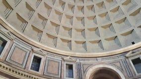 Binnen Pantheon stock videobeelden