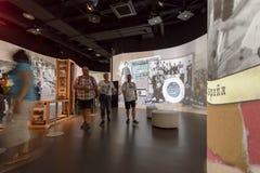 Binnen pavillion van Argentinië #02, EXPO 2015 Milaan Stock Foto