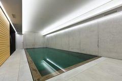 Binnen pool royalty-vrije stock fotografie