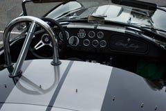 Binnen Shelby Cobra Stock Foto's