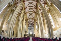 Binnen St Marys kerk Royalty-vrije Stock Afbeeldingen