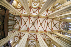 Binnen St Marys kerk Royalty-vrije Stock Foto's