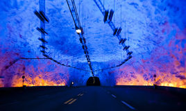 Binnen tunnel royalty-vrije stock foto