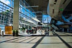 Binnen van BMW-Rand Royalty-vrije Stock Afbeeldingen