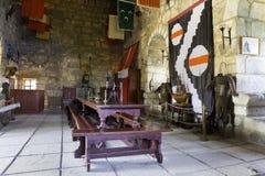 Binnen van Bodrum-kasteel royalty-vrije stock afbeeldingen