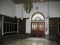 Binnen van de Moskee van Parijs Stock Afbeeldingen